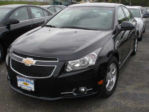 Black Granite Metallic Chevrolet Cruze LT/RS. Click To Enlarge.