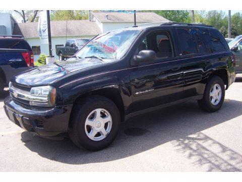 Used 2002 Chevrolet Trailblazer Ls 4x4 For Sale Stock