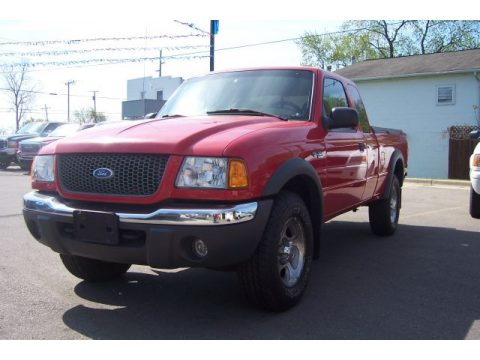 Used 2002 Ford Ranger Xlt Supercab 4x4 For Sale Stock