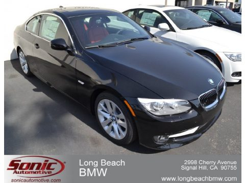 Jet Black BMW 3 Series 328i Coupe Click To Enlarge