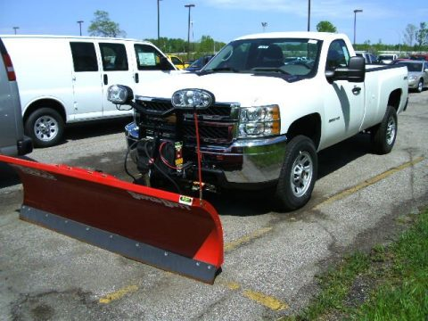 Chevrolet Silverado 2500HD Work Truck Regular Cab 4x4 Plow Truck