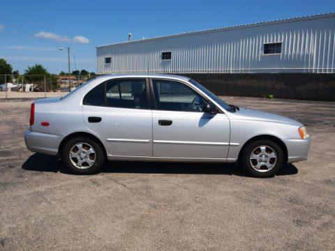 Used 2002 Hyundai Accent GL Sedan for Sale - Stock # ...