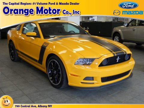 New 2013 ford mustang boss 302 for sale stock 00000n15 for Orange motors albany new york