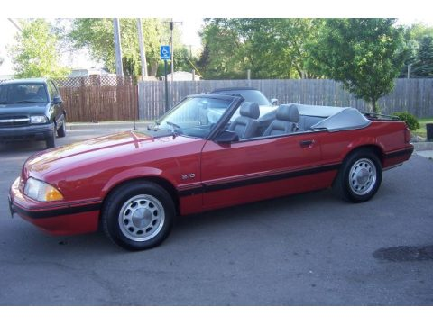 Used 1987 Ford Mustang Lx 5 0 Convertible For Sale Stock