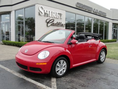 Used 2010 Volkswagen New Beetle 2 5 Convertible For Sale