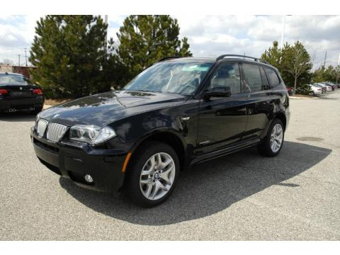 Jet Black BMW X3 XDrive30i Click To Enlarge