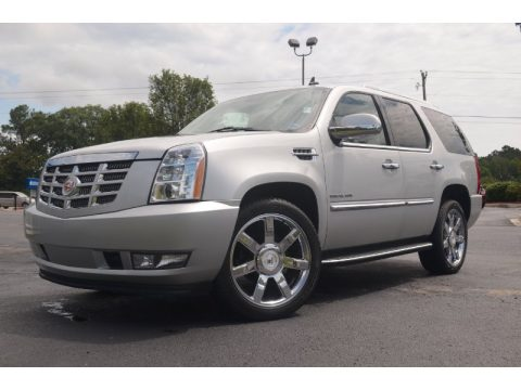 Silver Lining Cadillac Escalade Luxury AWD.  Click to enlarge.