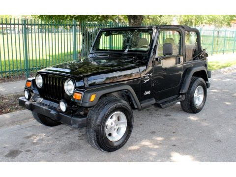 used 2001 jeep wrangler sport 4x4 for sale stock 327184. Black Bedroom Furniture Sets. Home Design Ideas