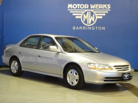 Used 2002 honda accord ex v6 sedan for sale stock for Motor werks barrington used cars