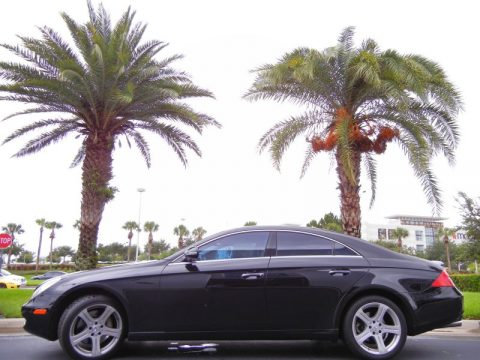 Used 2006 mercedes benz cls 500 for sale stock 6a022665 for Orlando mercedes benz dealer