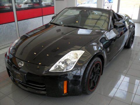 used 2006 nissan 350z touring roadster for sale stock x1175 dealer car ad. Black Bedroom Furniture Sets. Home Design Ideas