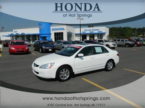 used 2005 honda accord ex l v6 sedan for sale stock 12962a dealer car ad. Black Bedroom Furniture Sets. Home Design Ideas