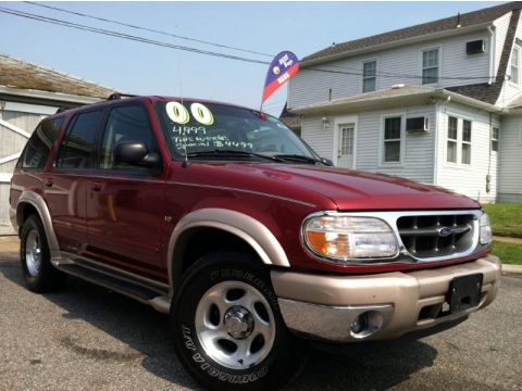 used 2000 ford explorer eddie bauer 4x4 for sale stock 1182 dealer car ad. Black Bedroom Furniture Sets. Home Design Ideas