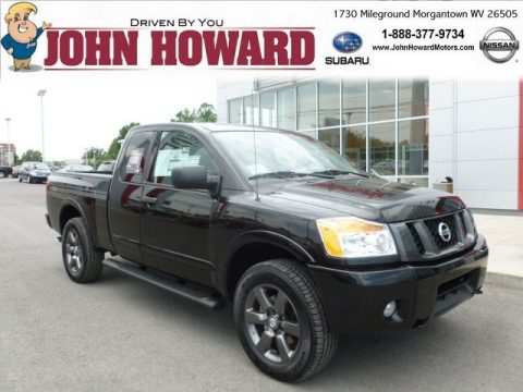 New 2012 Nissan Titan Sv King Cab 4x4 For Sale Stock