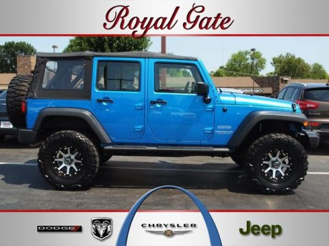 Royal Gate Dodge >> Used 2010 Jeep Wrangler Unlimited Sport 4x4 for Sale ...