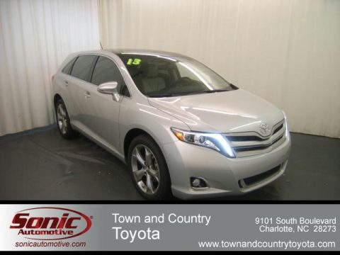 Classic Silver Metallic Toyota Venza Limited. Click To Enlarge.