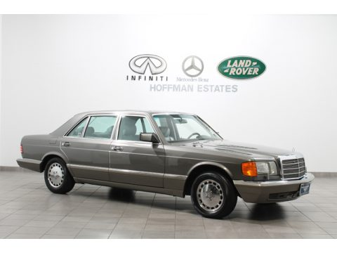Used 1991 mercedes benz s class 560 sel for sale stock for Mercedes benz dealer hoffman estates il