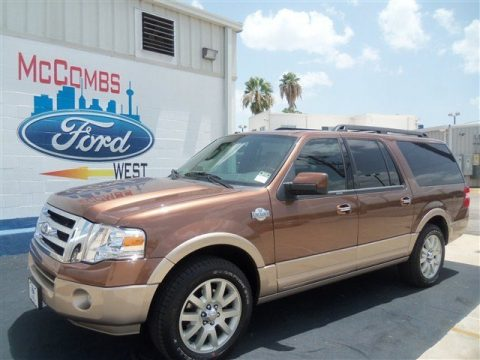 Golden Bronze Metallic Ford Expedition El King Ranch Click To Enlarge