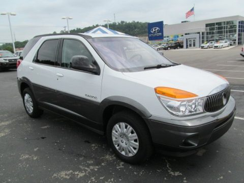 Used 2003 buick rendezvous cx awd for sale stock h1889a olympic white buick rendezvous cx awd click to enlarge publicscrutiny Images