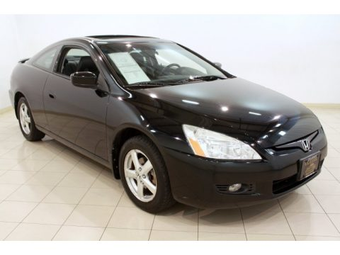 used 2004 honda accord ex v6 coupe for sale stock t34728a dealer car ad. Black Bedroom Furniture Sets. Home Design Ideas