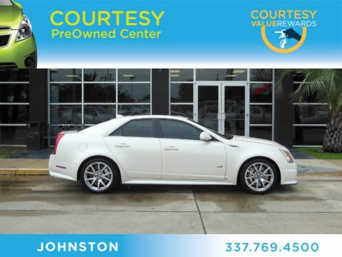 Used 2009 Cadillac Cts V Sedan For Sale Stock 13b002a Dealer Car Ad 68367008