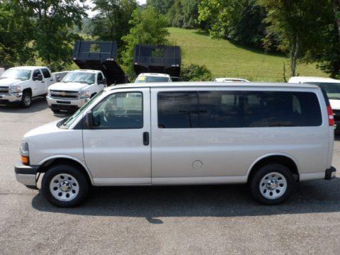 New 2012 Chevrolet Express LS 1500 AWD Passenger Van for ...