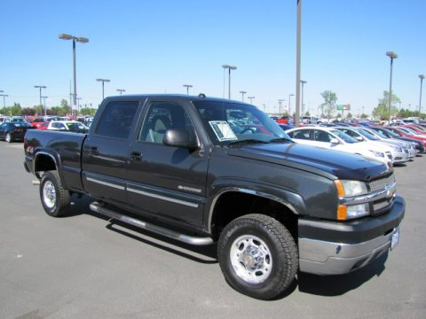 used 2004 chevrolet silverado 2500hd ls crew cab 4x4 for sale stock 74451. Black Bedroom Furniture Sets. Home Design Ideas