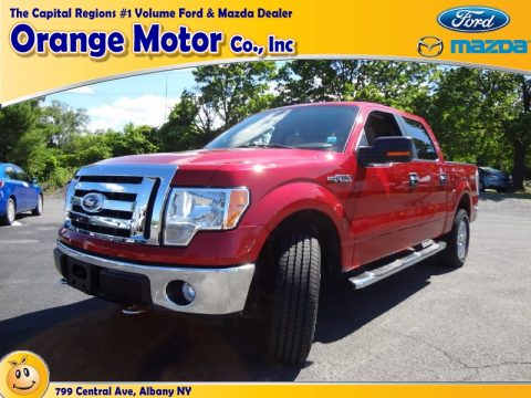 Used 2009 ford f150 xlt supercrew 4x4 for sale stock for Orange motors albany new york