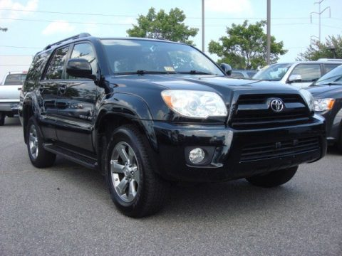 Charles Barker Toyota   Virginia Beach, Virginia. Black Toyota 4Runner  Limited 4x4. Click To Enlarge.