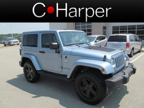 used 2012 jeep wrangler sahara arctic edition 4x4 for sale stock ft47233a. Black Bedroom Furniture Sets. Home Design Ideas