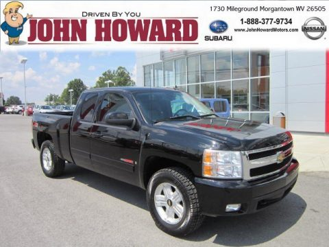 Used 2007 Chevrolet Silverado 1500 Ltz Extended Cab 4x4 For Sale Stock 7662530 Dealerrevs