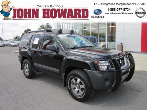 Used 2011 nissan xterra pro 4x 4x4 for sale stock for Mileground motors in morgantown wv