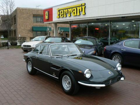 Metallic Gray Ferrari 330 GTC .  Click to enlarge.