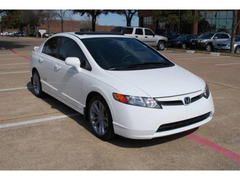 Used 2008 honda civic si sedan for sale stock t8h711234 for Lute riley honda 1331 n central expy richardson tx 75080