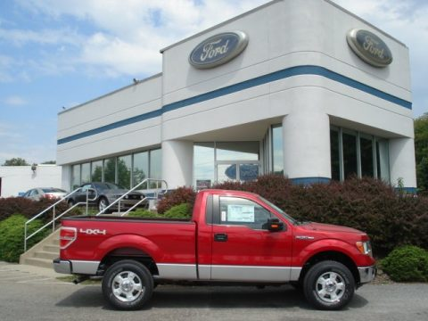 new 2012 ford f150 xlt regular cab 4x4 for sale stock f705 dealer car ad. Black Bedroom Furniture Sets. Home Design Ideas