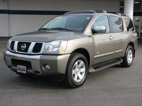 used 2006 nissan armada le 4x4 for sale stock 100021a dealer car ad 6911543. Black Bedroom Furniture Sets. Home Design Ideas
