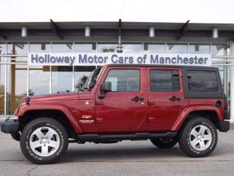 Used 2012 Jeep Wrangler Unlimited Sahara 4x4 For Sale