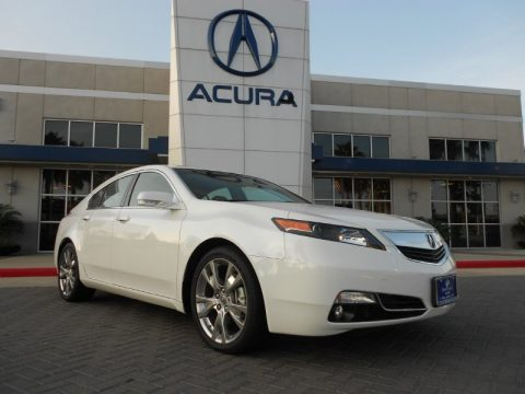 Acura Dealers on Bellanova White Pearl Acura Tl 3 7 Sh Awd Advance  Click To Enlarge