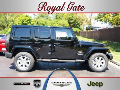 Jeep wrangler sahara 2013 black black jeep wrangler unlimited