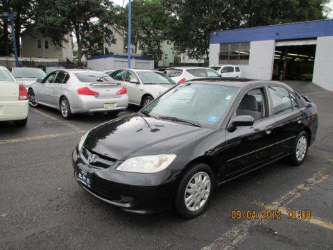 used 2004 honda civic lx sedan for sale stock h132303a dealer car ad 70311089. Black Bedroom Furniture Sets. Home Design Ideas