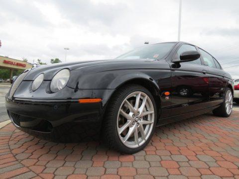 2006 Jaguar s Type r For Sale Ebony Black Jaguar s Type r