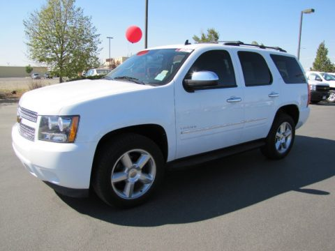 Summit White Chevrolet Tahoe LTZ 4x4.  Click to enlarge.
