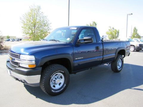 used 2001 chevrolet silverado 2500hd ls regular cab 4x4 for sale stock 71612. Black Bedroom Furniture Sets. Home Design Ideas