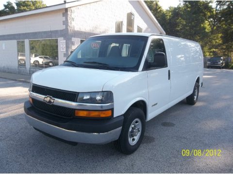 used 2003 chevrolet express 3500 extended cargo van for sale stock 217068. Black Bedroom Furniture Sets. Home Design Ideas