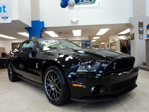 used 2012 ford mustang shelby gt500 svt performance package coupe for sale stock 64177a. Black Bedroom Furniture Sets. Home Design Ideas