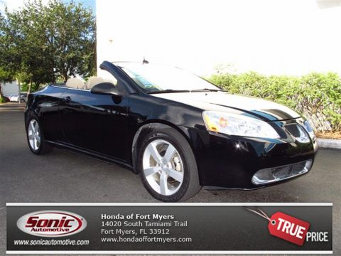 Used 2008 Pontiac G6 Gt Convertible For Sale Stock