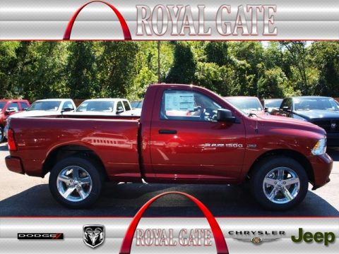Royal Gate Dodge >> New 2012 Dodge Ram 1500 Express Regular Cab 4x4 for Sale