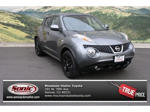 Gun Metallic Nissan Juke SL AWD.  Click to enlarge.