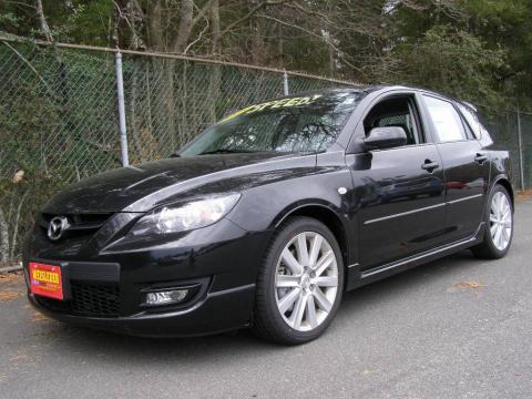 Mazda 3 2009 Sport. Black Mica 2009 Mazda MAZDA3