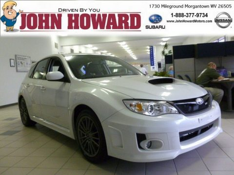 Satin White Pearl Subaru Impreza WRX Limited 5 Door.  Click to enlarge.